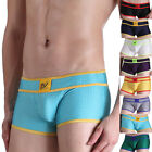 XMAS HOT Sexy Men's Smooth Underwear Boxer Briefs Shorts Trunks Lingerie Bottoms