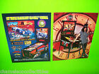 GUNS N ROSES + VIPER NIGHT DRIVIN ORIGINAL PINBALL MACHINE FLYER SET WITH SLASH