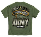 % US Army - Army Strong Camo Camouflage Snake Men's T-Shirt - Military Green