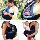 Adjustable Infant Baby Carrier Sling Wrap Swaddling Front Strap Sleeping Bags