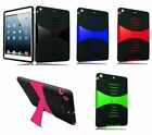 Mix Rotating Leather Flip Hard Cover Silicone Case For Apple iPad Air