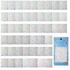 ST16 1 Sheet, 20 Sheets Nail Art 3D Sticker-FB01-FB24 Series