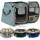 Portable Fabric Pet Playpen Dog Cat Puppy Guinea Pig Rabbit Play Pen Folding Run