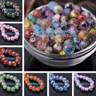 20pcs 10mm Lampwork Glass Faceted Loose Spacer Beads Charms Findings