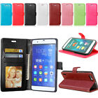 Stand Photo Frame Wallet Leather Flip Card Slot Protect Case Cover For Huawei