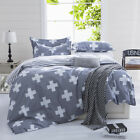 Cross Single Double Queen King Bed Quilt Covers NEW Duvet/Doona Cover Set Linen