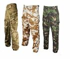 ARMY CAMOUFLAGE TROUSERS HIKING FISHING OUTDOOR WINTER DEAL GRADE 1 USED