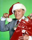 BOB HOPE SNATA CLAUS HAT HOLDING PRESENTS PHOTO OR POSTER