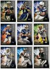 2015 Topps Valor Football Speed Parallel Rookie and Stars You Pick the Player A