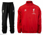 Liverpool FC Full Tracksuit Top Bottoms Baby Kids Childs Suit Warrior Red Black