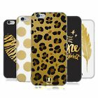 HEAD CASE DESIGNS DORATO COVER MORBIDA IN GEL PER APPLE iPHONE TELEFONI