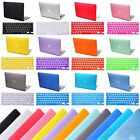 "Macbook Pro 15"" Inch Non-Retina Rubberized Protective Case + Keyboard Skin"