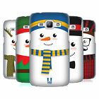 HEAD CASE DESIGNS MR SNOWMAN HARD BACK CASE FOR SAMSUNG PHONES 4