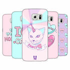 HEAD CASE DESIGNS PASTEL OVERLAYS HARD BACK CASE FOR SAMSUNG PHONES 1