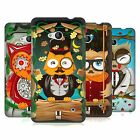 HEAD CASE DESIGNS FANCIFUL OWLS HARD BACK CASE FOR NOKIA PHONES 1