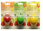 *GREENBRIER Flavored Lip Balm FRUIT Scented Gloss SPHERE (Carded) * YOU CHOOSE*