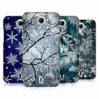HEAD CASE DESIGNS WINTER PRINTS HARD BACK CASE FOR HTC PHONES 3