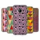 HEAD CASE DESIGNS TRIANGLES HARD BACK CASE FOR HTC PHONES 1