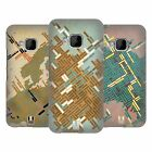 HEAD CASE DESIGNS THE ART OF MAPPING HARD BACK CASE FOR HTC PHONES 1