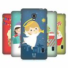 HEAD CASE DESIGNS JOLLY CHRISTMAS TOONS HARD BACK CASE FOR LG PHONES 3