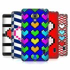 HEAD CASE DESIGNS PIXELATED HEARTS HARD BACK CASE FOR LG PHONES 3