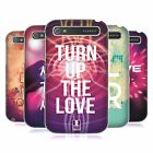HEAD CASE DESIGNS EDM LOVE HARD BACK CASE FOR BLACKBERRY PHONES