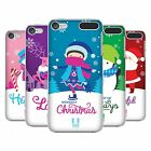 HEAD CASE DESIGNS CHRISTMAS TIDINGS HARD BACK CASE FOR APPLE iPOD TOUCH MP3
