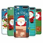 HEAD CASE DESIGNS SANTAS MISADVENTURES HARD BACK CASE FOR APPLE iPOD TOUCH MP3