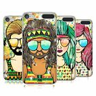 HEAD CASE DESIGNS SUMMER HIPPIES HARD BACK CASE FOR APPLE iPOD TOUCH MP3