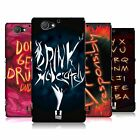 HEAD CASE DESIGNS DRINK MODERATELY HARD BACK CASE FOR SONY PHONES 4