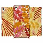 HEAD CASE DESIGNS LEAF PATTERNS HARD BACK CASE FOR SONY PHONES 2