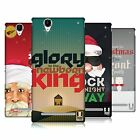 HEAD CASE DESIGNS CHRISTMAS CAROLS HARD BACK CASE FOR SONY PHONES 3