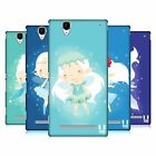 HEAD CASE DESIGNS WINTER PIXIES HARD BACK CASE FOR SONY PHONES 3