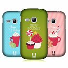 HEAD CASE DESIGNS HOLIDAY TREATS HARD BACK CASE FOR SAMSUNG PHONES 5