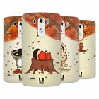HEAD CASE DESIGNS AUTUMN CRITTERS SOFT GEL CASE FOR LG PHONES 1