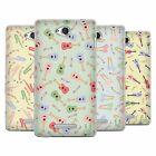 HEAD CASE PAJAMA PATTERNS - MUSICAL INTRUMENTS SOFT GEL CASE FOR SONY PHONES 3