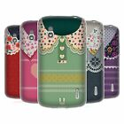 HEAD CASE DESIGNS FLORAL COLLAR SOFT GEL CASE FOR LG PHONES 3
