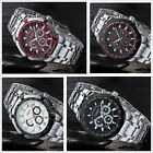Curren Luxury Men's Stainless Steel Quartz Dial Analog Sport Wrist Watch 4Colors
