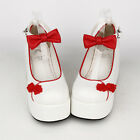 Sweet Lolita tea party badydoll Chinese Knots Bowknots Shoes Custom made 8522-8