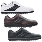 FOOTJOY MENS AWD GOLF SHOES - NEW FJ LEATHER WATERPROOF CLASSIC CASUAL STYLE