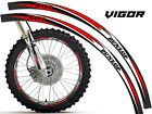 VIGOR DIRT BIKE RIM PROTECTORS CHOOSE YOUR SIZE DIRTBIKE DECALS STICKERS DECO
