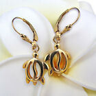 GAT HAWAIIAN Gold Earrings - Honu, JEWELRY