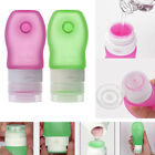Travel Mini Bottle Silicone Lotion Packing Shampoo Bath Container Press Bottles