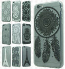 For Apple iPhone 6 / 6s Etched 3D TPU Hard Skin Case Phone Cover Accessory