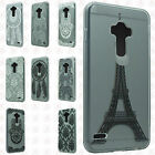 For LG G Stylo Etched 3D TPU Hard Skin Case Phone Cover Accessory