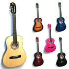 Rio 3/4 Size Kids Childrens Childs Junior Acoustic Classical Guitar Pack Package
