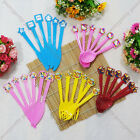 6x FAMOUS CARTOON BIRTHDAY PARTY PLASTIC KNIFE FORK SPOON DINNER TABLEWARE FUN