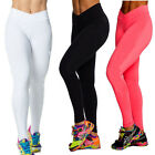 Womens Sport Yoga Running Pants Fitness Gym High Waist Trousers Leggings Cropped