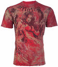 AFFLICTION Mens T-Shirt DESTINY Tattoo Motorcycle Biker Gym MMA UFC Jeans $66 image