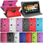 7 Inch New Folio Leather Flip Case Cover For Amazon Kindle Fire 2015 7'' inch